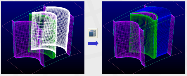 Automated block assembly in Pointwise.