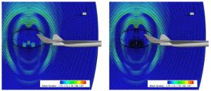 SU2 gradient-based mesh adaption for a Lockheed Martin design