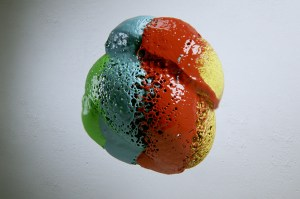 Part of a fluid simulation from Paulo Wang's video Splash.