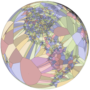 World Airports Voronoi from Jason Davies.