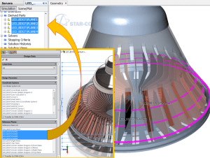 An illustration of new CAD capabilities coming in STAR-CCM+ v10.04. Image from CD-adapco.