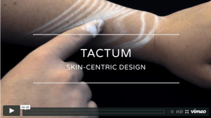 This truly puts the user in user interface. Tactum is a project by Madlab and Autodesk Research that lets you design wearables by drawing directly on your body and sending the result to a 3D printer. Anyone ready to mesh themselves? As first seen on SolidSmack. Click image for article.