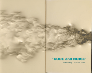 This CFD visualization is featured in Code and Noise, an exhibit in which artists use software to produce works that reflect on current events. Image from Cascade Technologies. See link above.