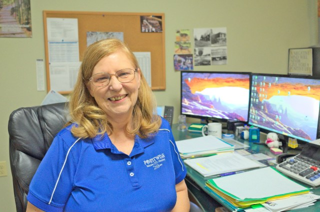 Rose Mary Crager, Manager of the Business & Administrative Services Team.