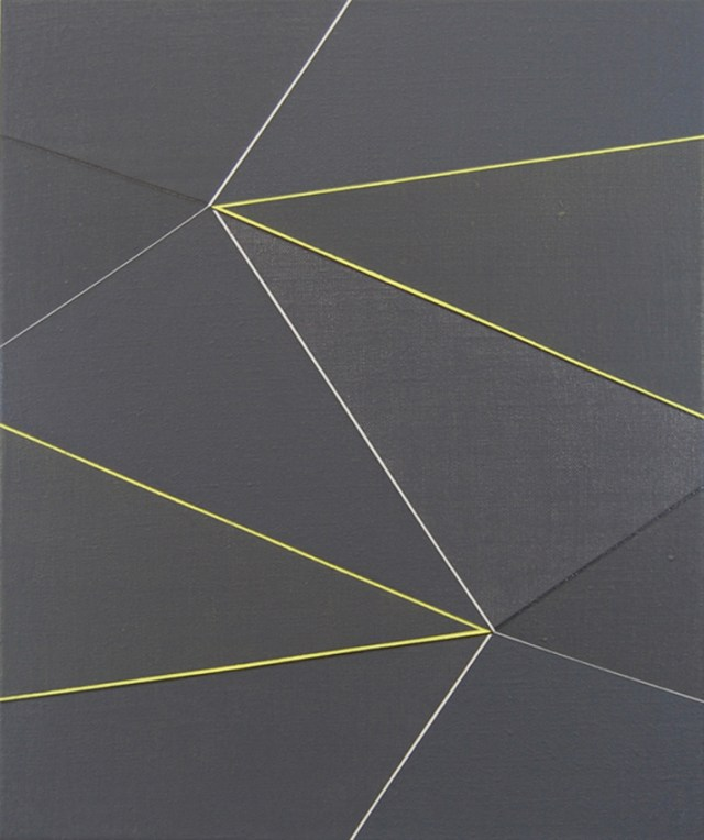 Katrina Blannin, Double Hexad Black Naples, 2013. Image from Jessica Carlisle Gallery. Click image for source.