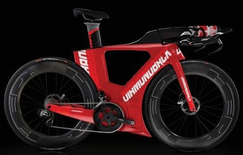 The new Diamondback triathalon bike screams aerodynamics and whispers CFD. Image from BikeRadar.com. Click image for article.