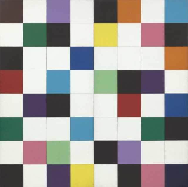 Ellswroth-Kelly-Colors-for-a-Large-Wall-1951