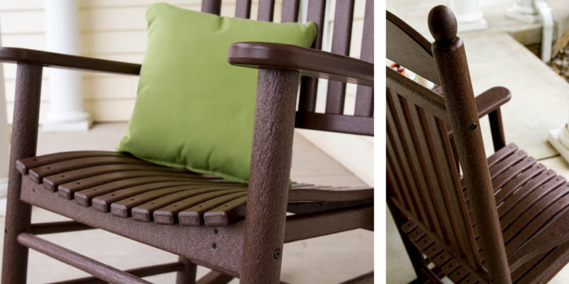 rocking chair height bedroom nz the complete guide to buying a polywood blog jefferson in mahogany heights