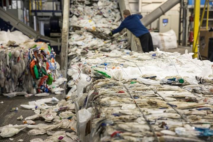 recycling milk jugs process