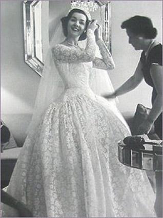 1950 Style Wedding Dresses