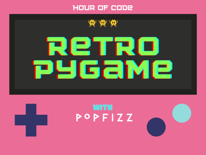 retro game with python