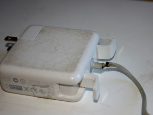 Old MagSafe adapter