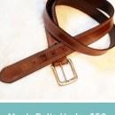 Men's Belts Under 50