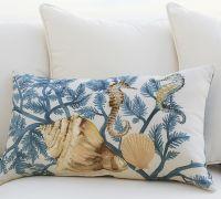 Painted Coastal Pillows