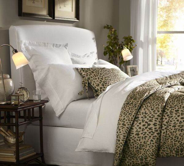 Leopard Bedding Pottery Barn