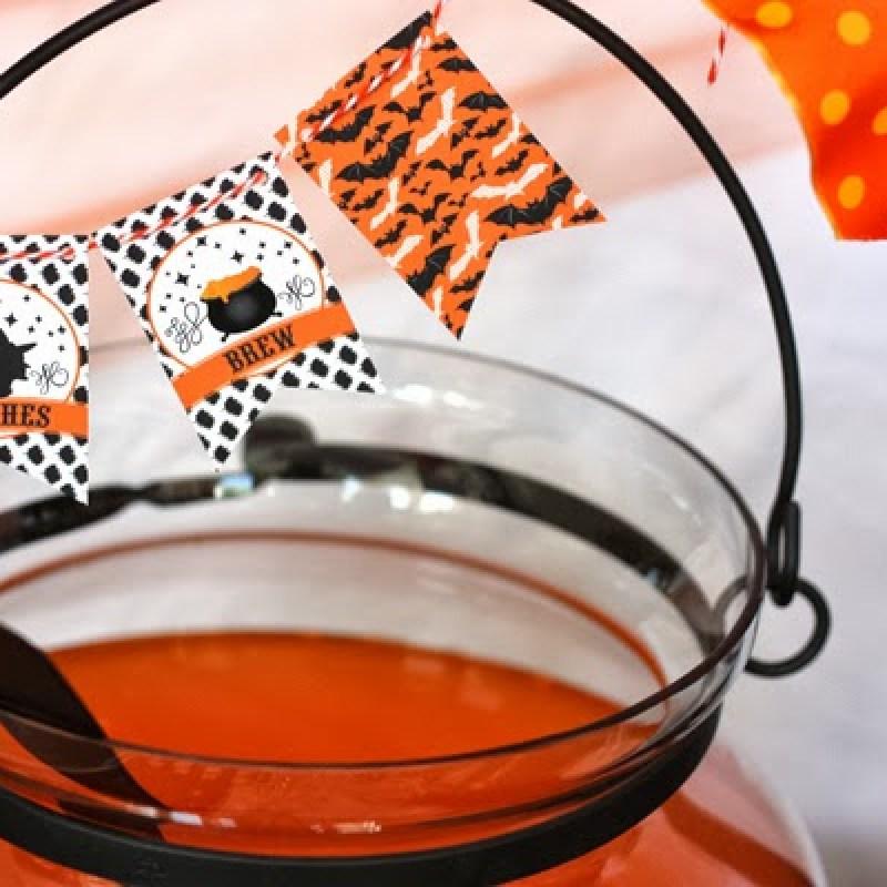 image 55 Vintage Halloween party printables + potterybarn