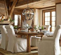 Pottery Barn Rustic Dining Room