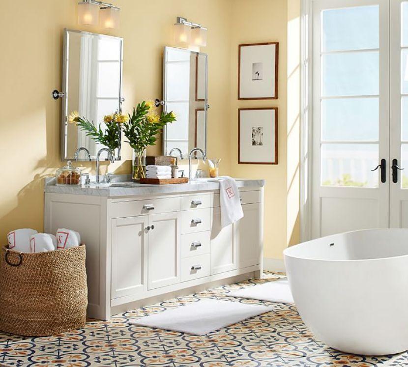 Pottery Barn Pivot Vanity Mirror: How To Organize Your Bathroom