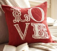 Giveaway! Win One of Our Love Pillows for Valentine's Day
