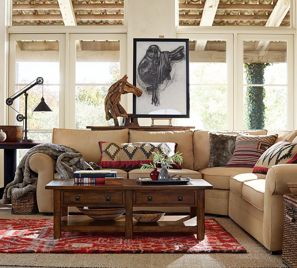 Pottery Barn Couch: Say Hello To Pottery Barn's Performance Fabric Collection