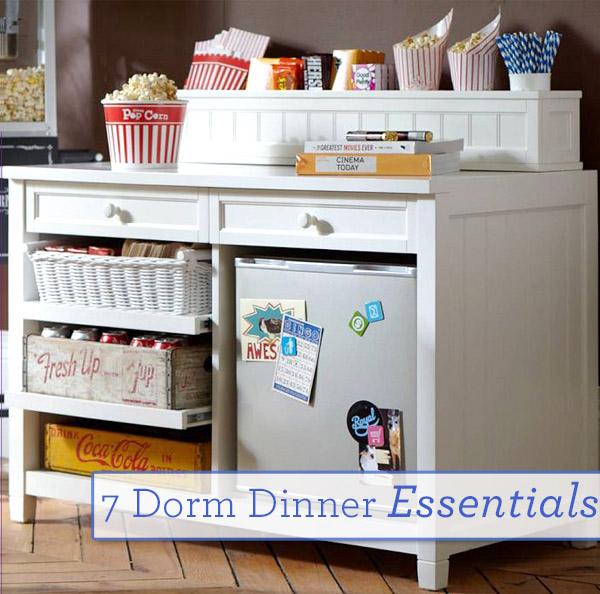 Dorm Dinner Essentials Feature