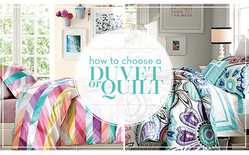 Decor 101 The Difference Between Duvets And Quilts Pottery Barn