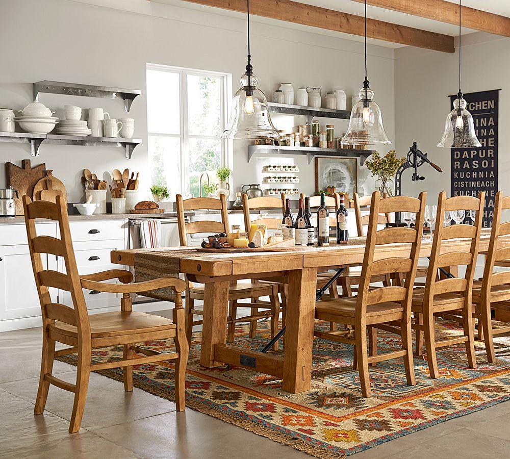 Dining Room Tables Pottery Barn Design