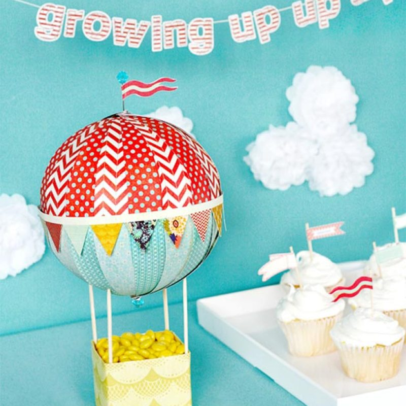 Hot Air Balloon Party Ideas For Kids