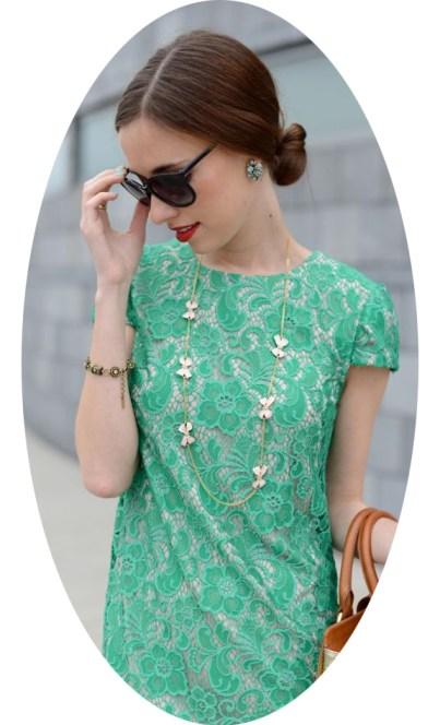 Mara Green Dress