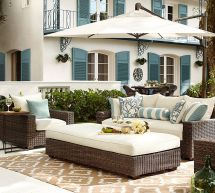 Pottery Barn Outdoor Living Space