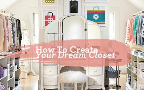 dream closet feature