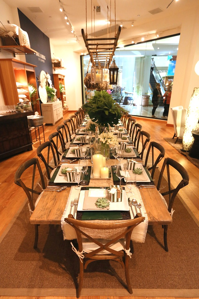 Lunch In Style South Coast Plaza Pottery Barn S Garden