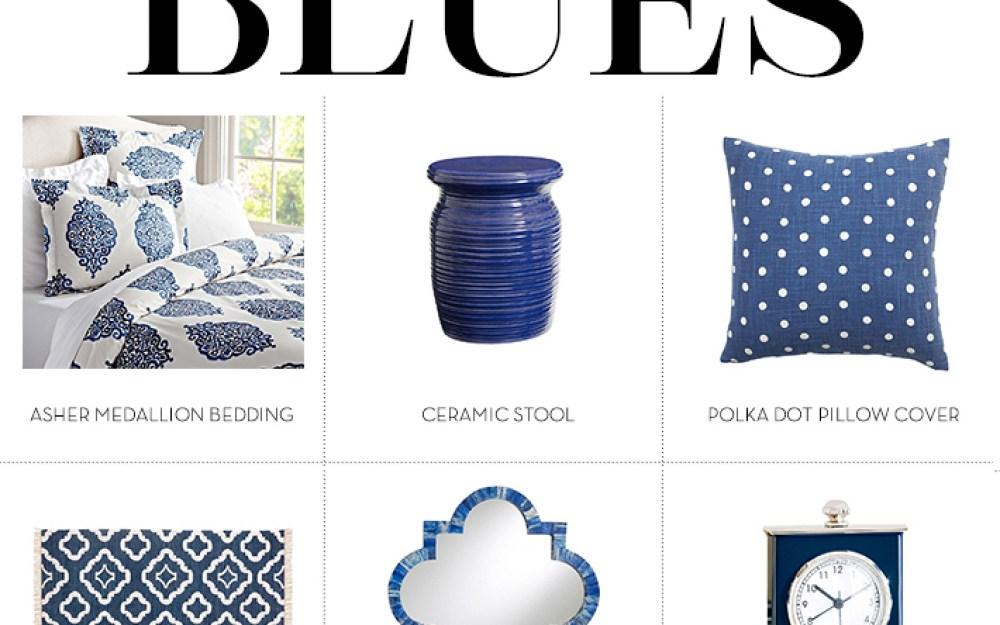We Love Blue Bedrooms