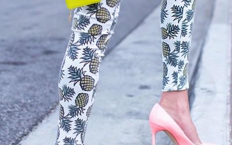 Pineapple-pants