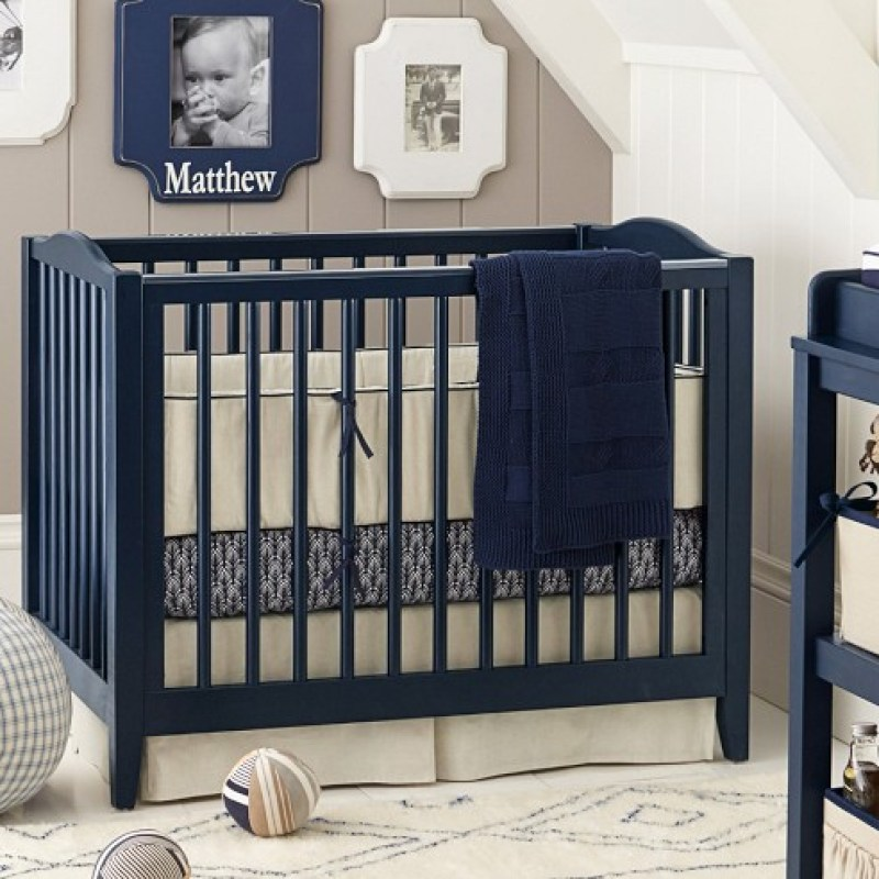 Mini Crib Linen Nursery Bedding