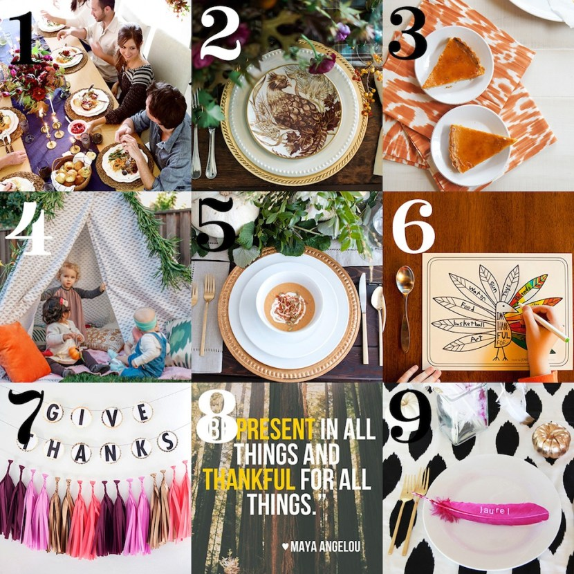 Thanksgiving Roundup from Pottery Barn