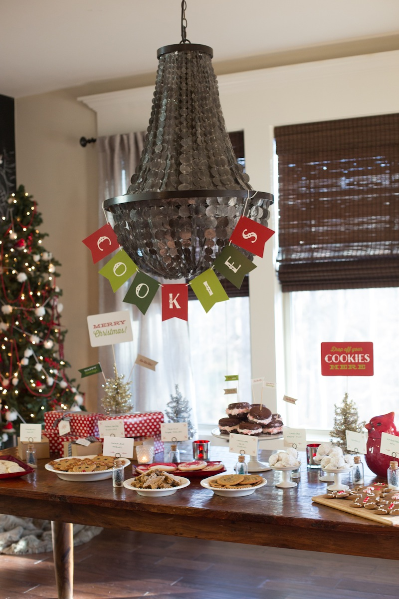 The Cutest Christmas Cookie Party Ever