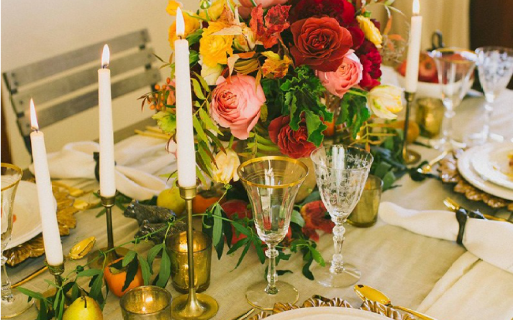 Transitional Table Settings Fall To Winter Decor