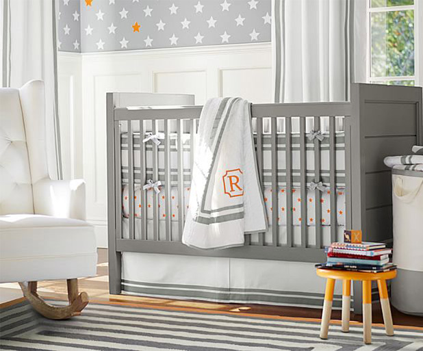 Graphic Icons in Fun Colors for a Gender Neutral Nursery | 8 Nursery Trends for the New Year