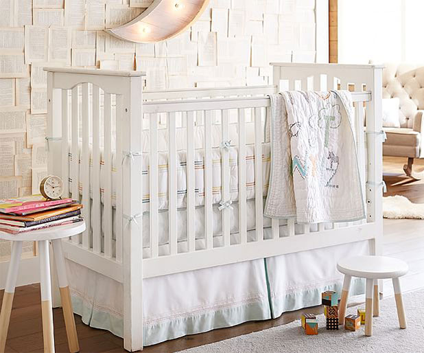 Soft Pale Shades in the Nursery | 8 Nursery Trends for the New Year