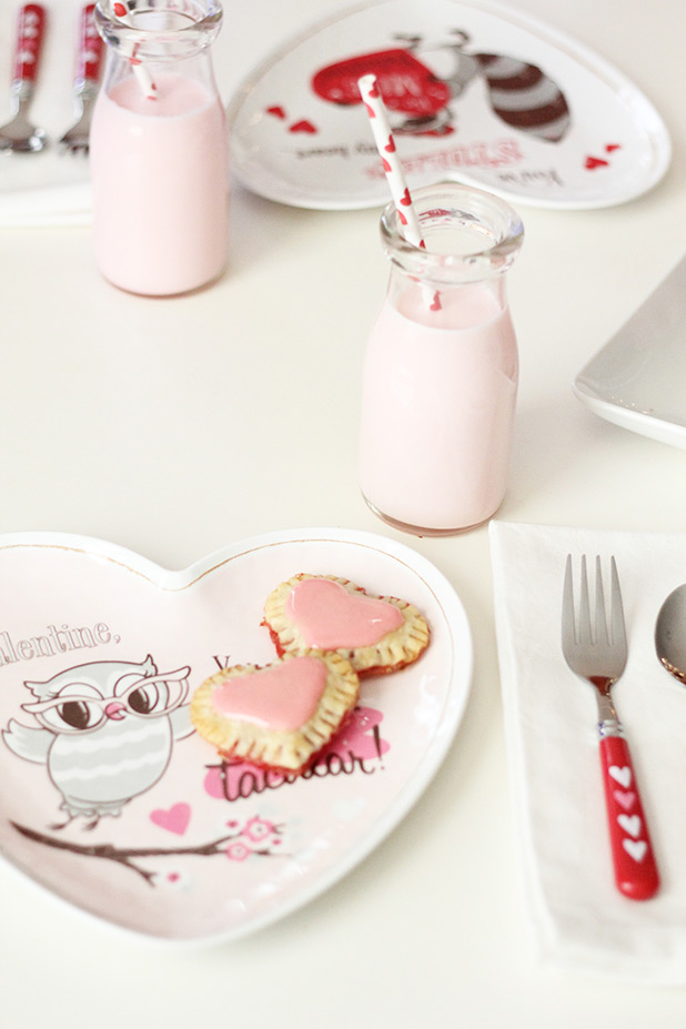 Perfect Mini Pop Tart Recipe for Valentine's Day | Building Blocks Blog