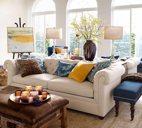 Pottery Barn Living Room Ideas