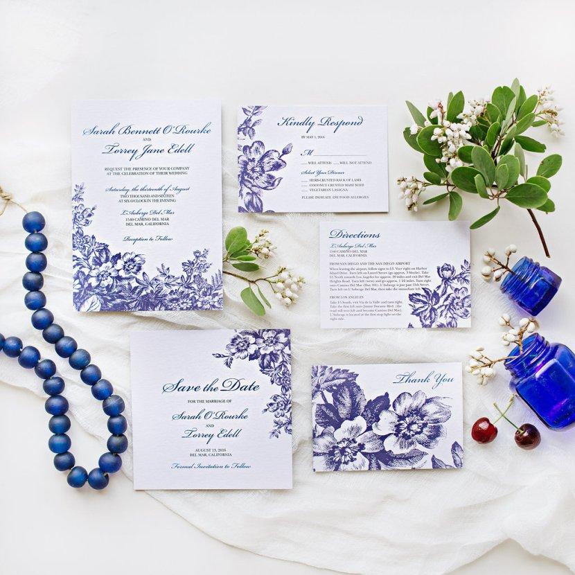 Wedding Paper Divas & Pottery Barn Classic Toile