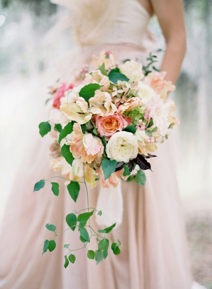 Dusty Rose and Pink Bouquet