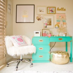 Chairs For Desk In Bedroom Yellow Plastic Adirondack Chair A Charming Space With O My Darlings Blog Pottery Barn