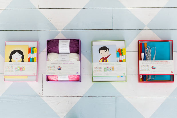 Introducing Handmade Charlotte DIY Kits for Pottery Barn Kids!