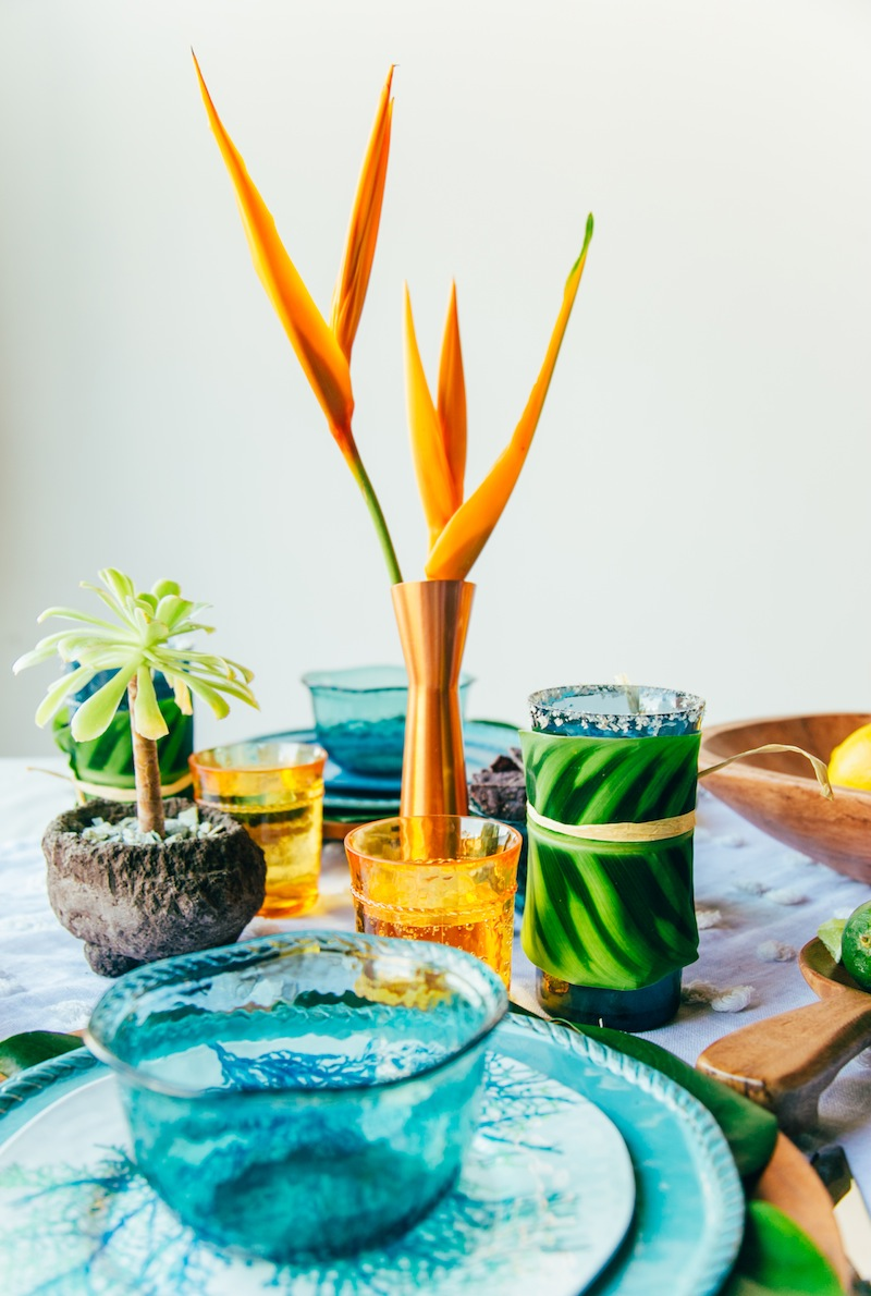 Summer Party Centerpiece
