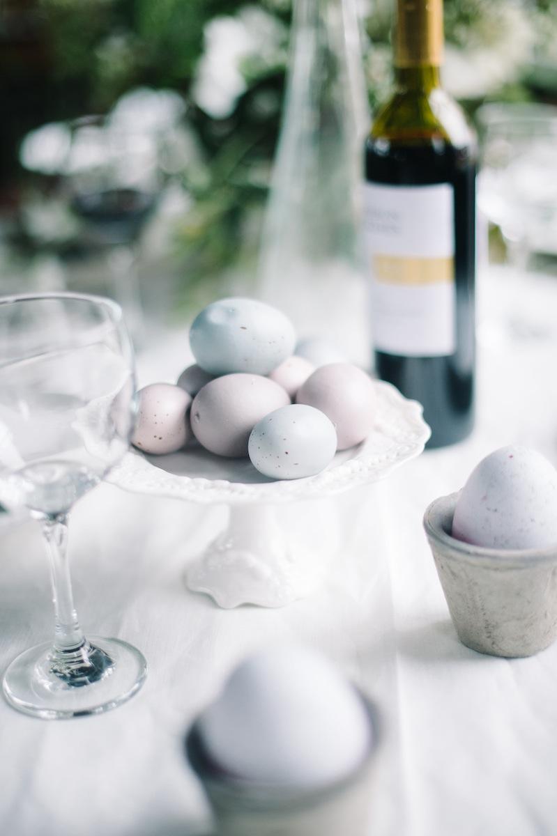 Pottery Barn Neutral Easter Eggs