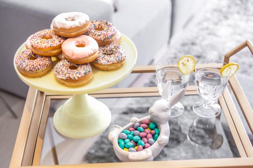 Easter Donut Buffet Bar