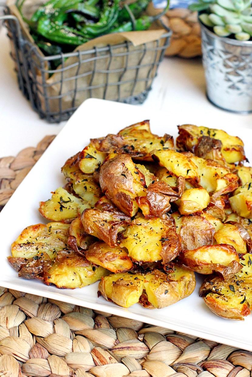 Crispy Smashed Potatoes copy